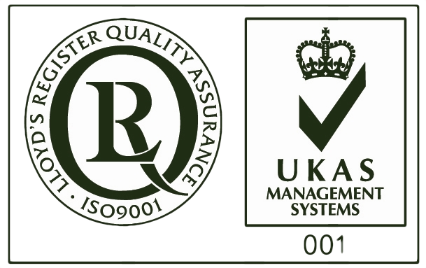 ISO 9001 and UKAS Mark trans